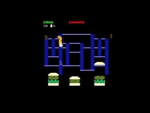 Burger Time: Обзор первой игры на ПК