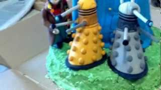 Awesomest doctor who cake ever