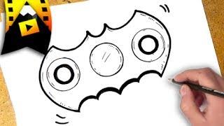 como dibujar un spinner  | how to draw fidget spinner
