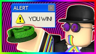 how i actually WON a roblox contest... (story)