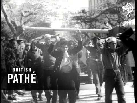 Ismailia; Army Seize Police H.Q. (1952)