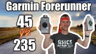 Garmin Forerunner 45 vs Garmin Forerunner 235