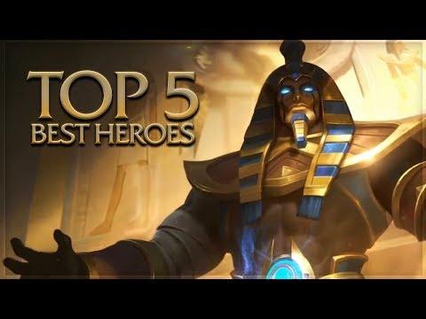 Mobile Legends: Top 5 Best Heroes