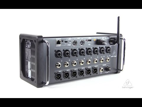 X AIR XR16 16-Input Digital Mixer for iPad/Android Tablets