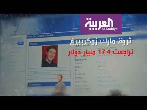 خسائر بالمليارات لمؤسس فيسبوك  - نشر قبل 23 ساعة