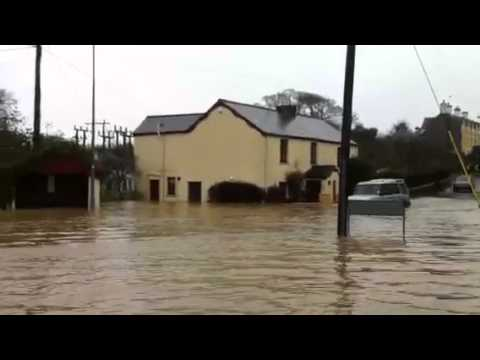 Flood at llantwit major -Boverton