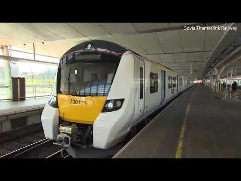 New self driving train debuts on the Thameslink railway