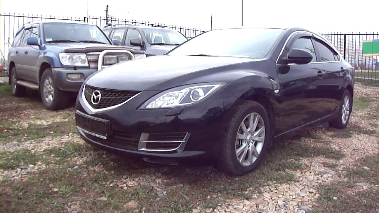 2008 mazda 6 start up engine and in depth tour youtube. Black Bedroom Furniture Sets. Home Design Ideas