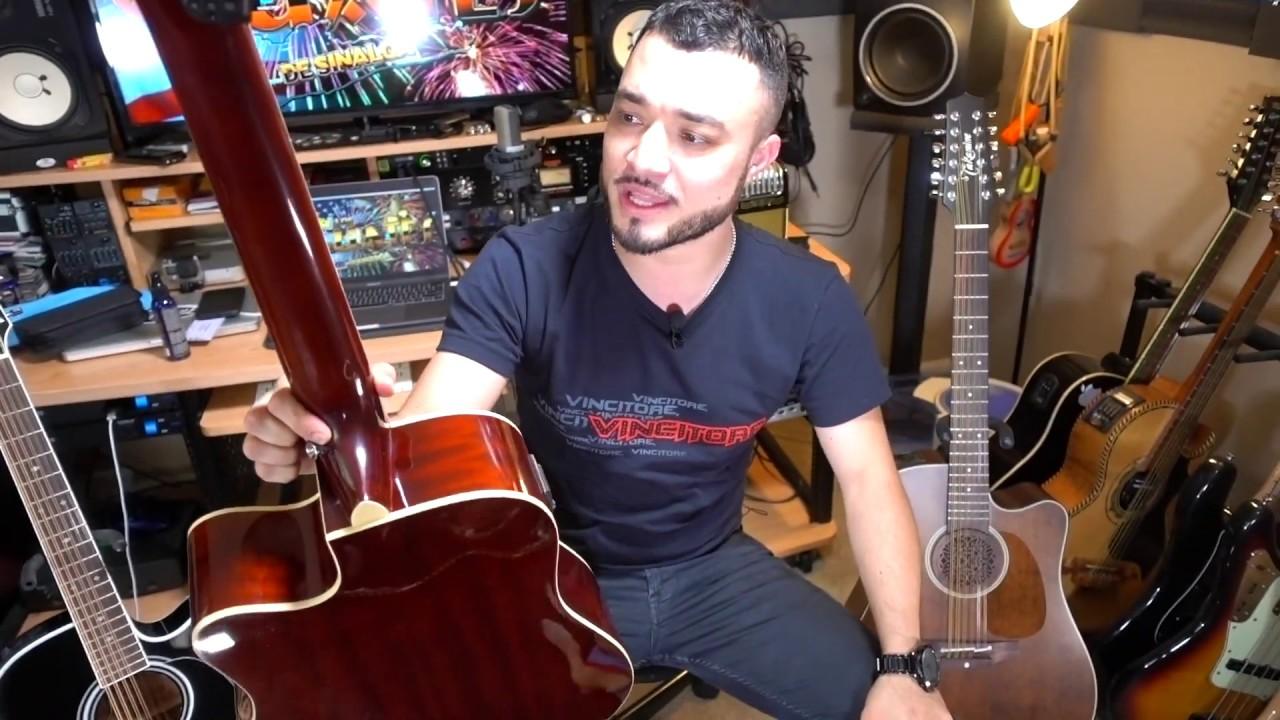 guitarra de la rosa 12 cuerdas review takamine y mas youtube. Black Bedroom Furniture Sets. Home Design Ideas