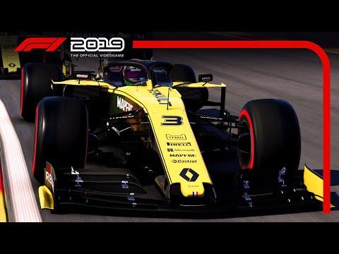 Muita velocidade e visuais incríveis em novo trailer do game F1 2019