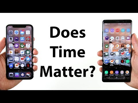 iPhone X vs Note 8 Long Term Speed Test (4 months later)