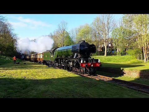 Bluebell Railway - January to July 2017 compilation