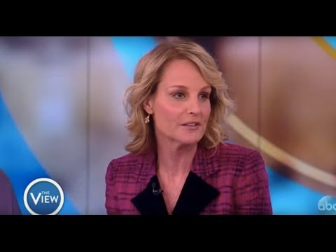 Helen Hunt Talks Jodie Foster Mixup, 'Shots Fired', Directing 'Feud'  The View