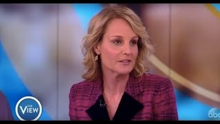 Helen Hunt Talks Jodie Foster Mix-up, 'Shots Fired', Directing 'Feud' | The View