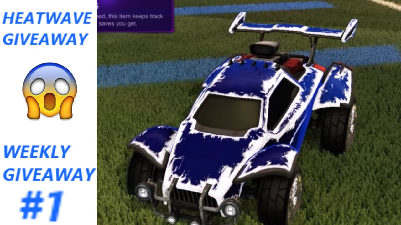 how to get heatwave in rocket league free