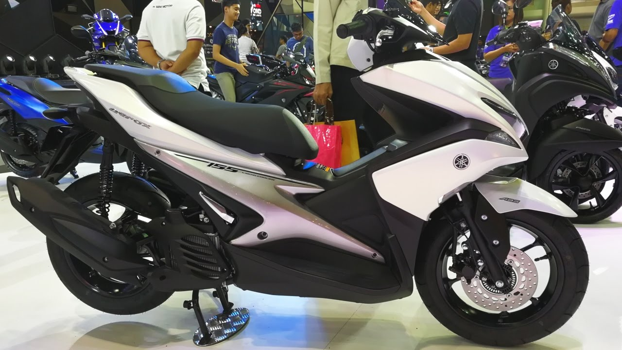 Yamaha Aerox 155 รุ่น ABS Version - YouTube