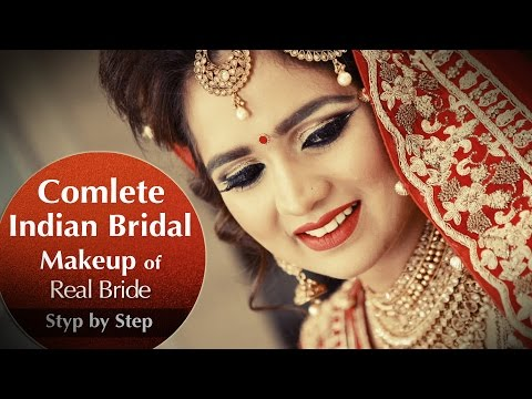 Complete Indian Bridal Makeup of Real Bride | Best Bridal Makeup Tutorial | Krushhh By Konica