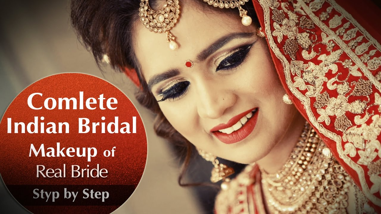complete indian bridal makeup of real bride | best bridal makeup