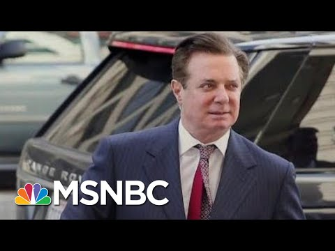 Botched Redactions Expose New Details Of Mueller's Paul Manafort Case | Rachel Maddow | MSNBC