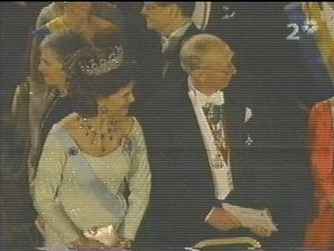 The royal family at the Nobel Prize in 2004