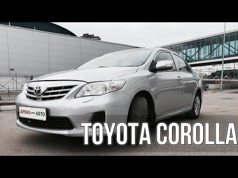 | Авто обзор на Toyota Corolla тойота королла за 550К |
