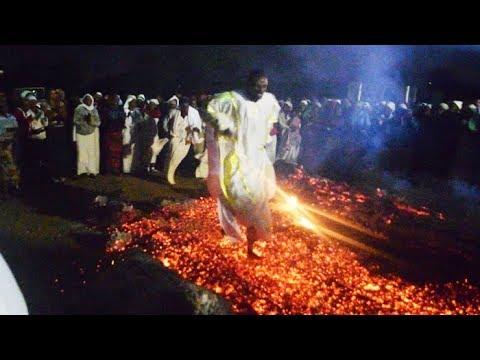 fire walking youtube