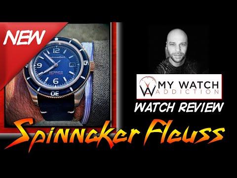Spinnaker Fleuss SP-5055-04 Dive Watch Review