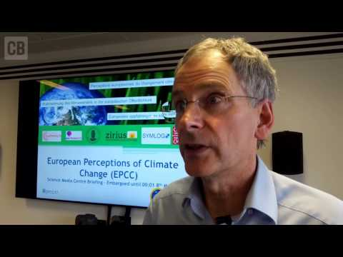 Prof Nick Pidgeon on European perceptions of climate change