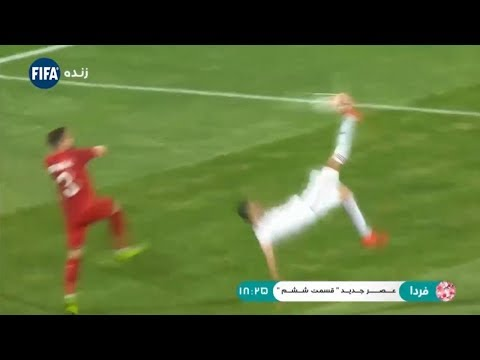 La LOCURA de gol en Irán: se paso del 'fail' a un golazo de chilena ⚽ AMAZING ⚽ 2019
