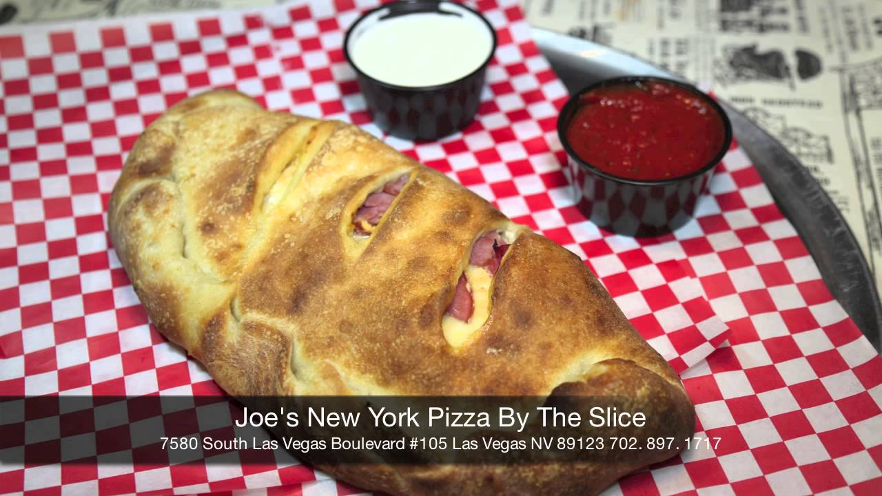 Best Calzone In Las Vegas Joe S New York Pizza By The Slice Youtube