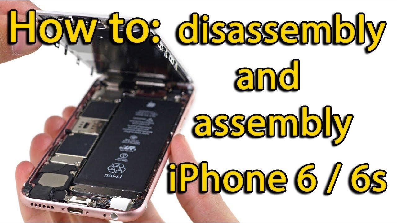 huge selection of a6482 6081b iPhone 6s disassembly and assembly process