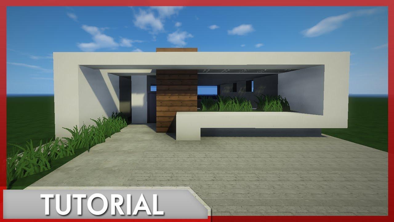 Minecraft como hacer una casa moderna r pida y sencilla for Eumaster casa moderna 8x8