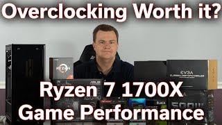 Is Overclocking Worth it? - Ryzen 7 1700X @ 4.0GHz - Game Benchmarking