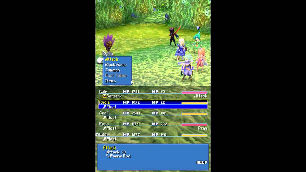 Let S Play Final Fantasy Iv Ds 66 Sylvan Cave Complete Youtube