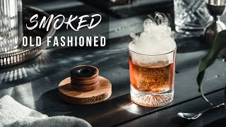 How to make a Sm๐ked Old Fashioned - How to smoke cocktails at home