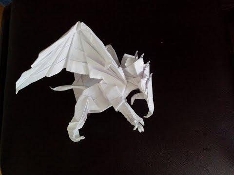Грифон оригами, griffin