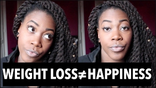 """WHY I CANT STAND WEIGHT LOSS """"GURUS""""   WEIGHT LOSS ≠ HAPPINESS"""