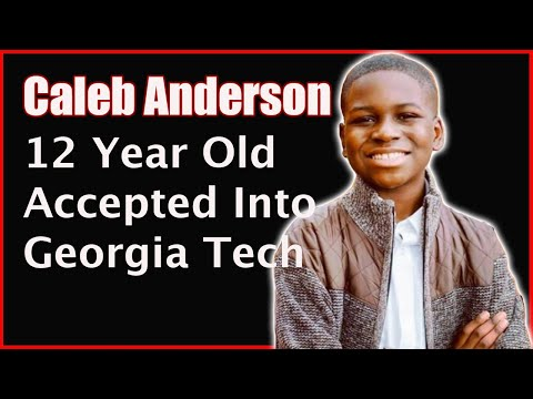 12 Year Old Caleb Anderson to Study Aerospace Engineering at Georgia Tech