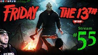 Friday The 13th 🌳🔪Mama👹☠️ All DLC💸PC💻Max✨#55th Stream🎋