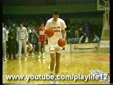 Toni Kukoc @ Slam Dunk Contest (Yu All-Star Game 1991)