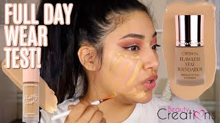BEAUTY CREATIONS FLAWLESS STAY FOUNDATION 5.0 FULL DAY WEAR TEST THIS FOUNDATION NEEDS MORE HYPE!