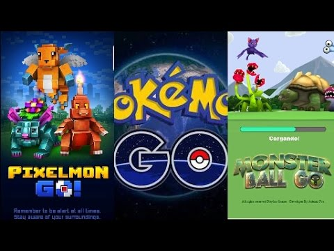 Alternativas Juegos Similares POKEMON GO