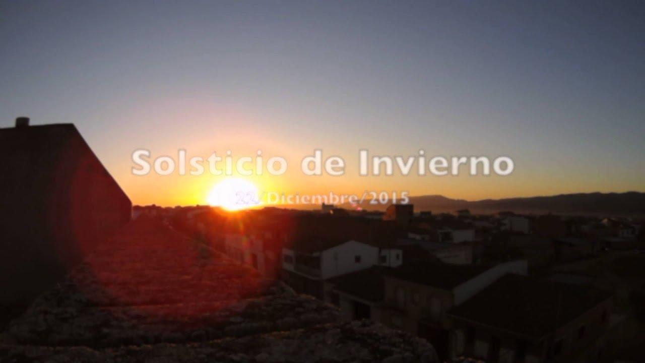 Puesta De Sol Solsticio De Verano Vs Solsticio De Invierno