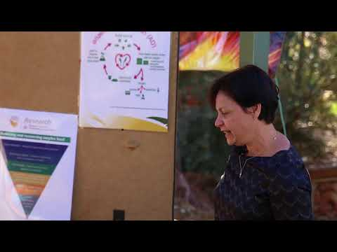 """desertSMART EcoFair: """"Food for thought…how to make energy and fertiliser from organic waste"""""""