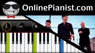 The Script - Breakeven - Piano Tutorial