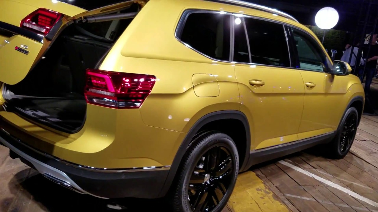 7 seat 2018 vw v6 atlas suv revealed youtube. Black Bedroom Furniture Sets. Home Design Ideas
