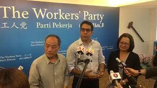 Doorstop with Pritam Singh, new Sec-Gen of Workers' Party