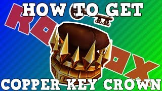 How to Get the Copper Key Crown | Roblox Ready Player One Jailbreak Event 2018