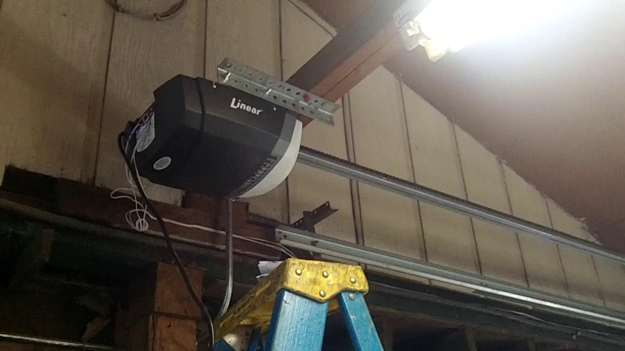 Mounting A Garage Door Opener Off Center 630 271 9343