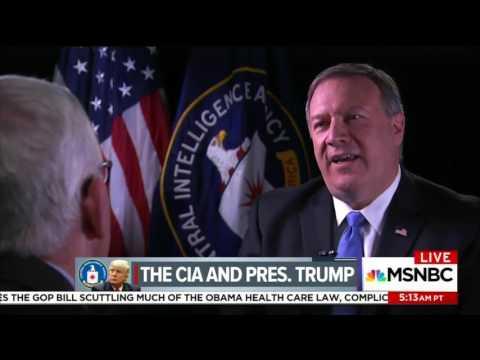 CIA Director: Trump 'Avid' Intel Consumer', I Meet with him 35-40 Minutes Virtually Every Day
